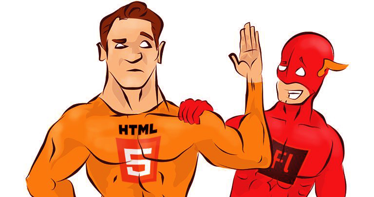 Flash ads to HTML5 ads