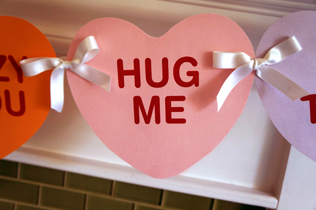 DIY Valentines Banner